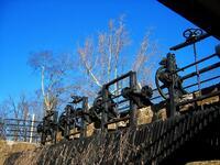 raubsville, pennsylvania, canal locks,