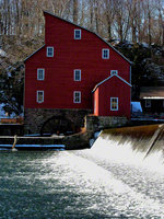 new jersey, clinton, mill, waters, frozen,