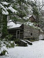 Winter At Hunters Cabin