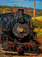 kempton, pennsylvania, steam locmotive,  south, 1920, number 2,