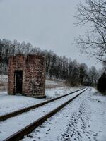 upper milford twp, pennsylvania, powder valley railroad, tower, track, train,