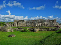 mexico, tulum, house of columns, the great palace, 1075, residence, quintana- roo,