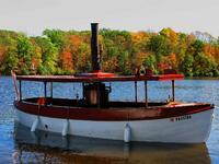 pennsylvania, haycock, steam, skiff,