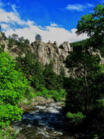 colorado, boulder, boulder creek, the elephant buttresses, climbing, trail,