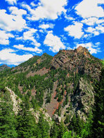 colorado, eldorado canyon state park, crags hotel,