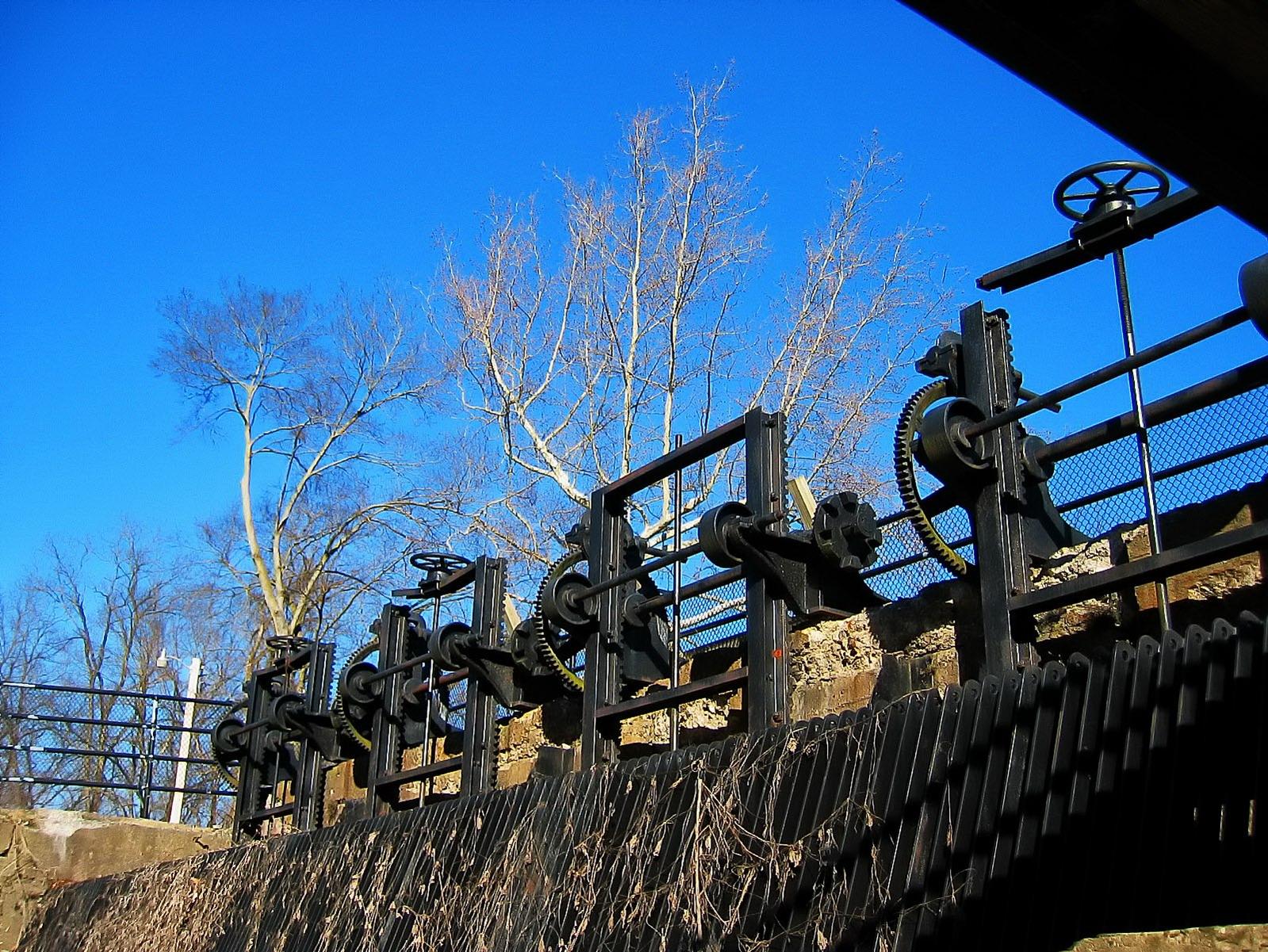 raubsville, pennsylvania, canal locks, , photo