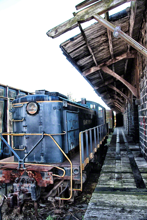 pennsylvania, quakertown, penn eastern, locomotive, rails,, photo