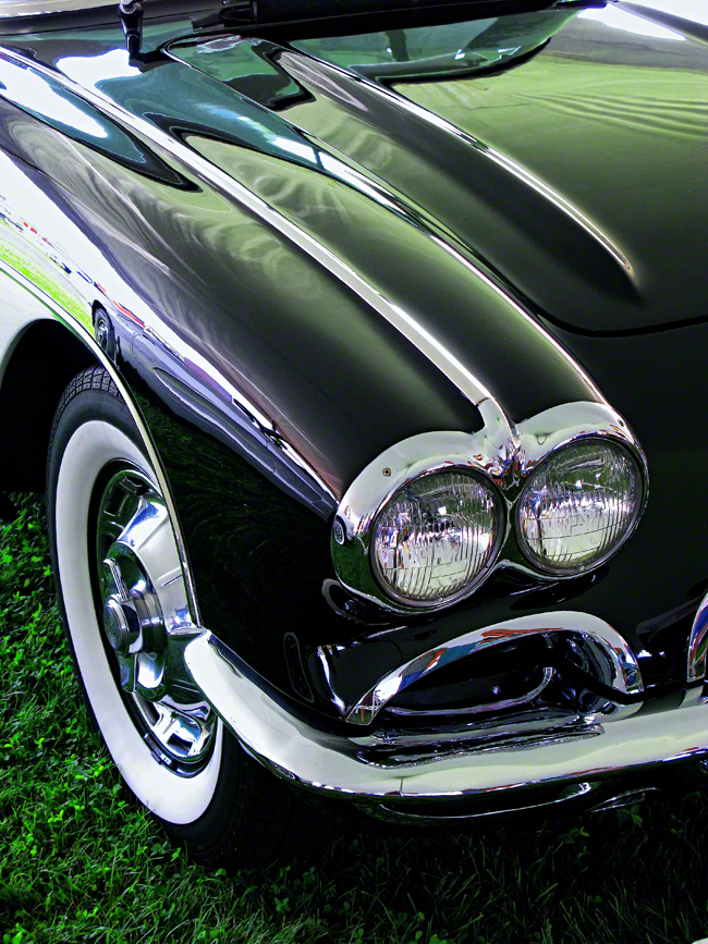 pennslyvania, carlisle, 1962, corvette, sting ray, headlights,, photo