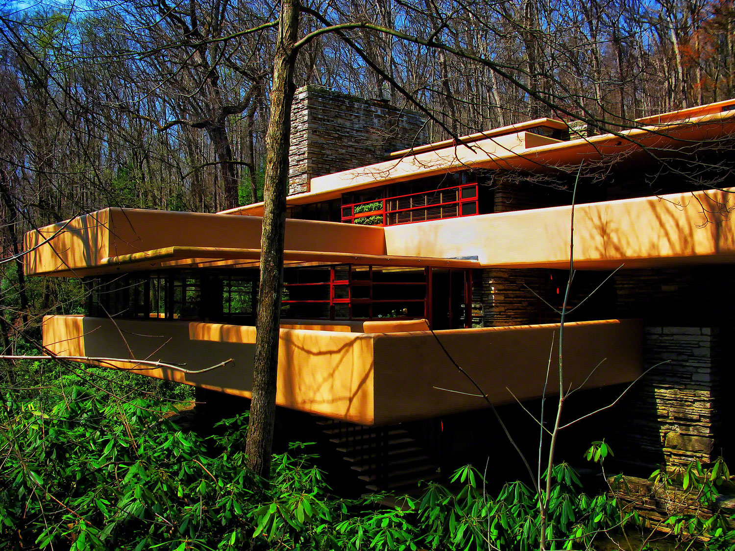 A place in the Laurel Highlands where nature and man blend in harmony.