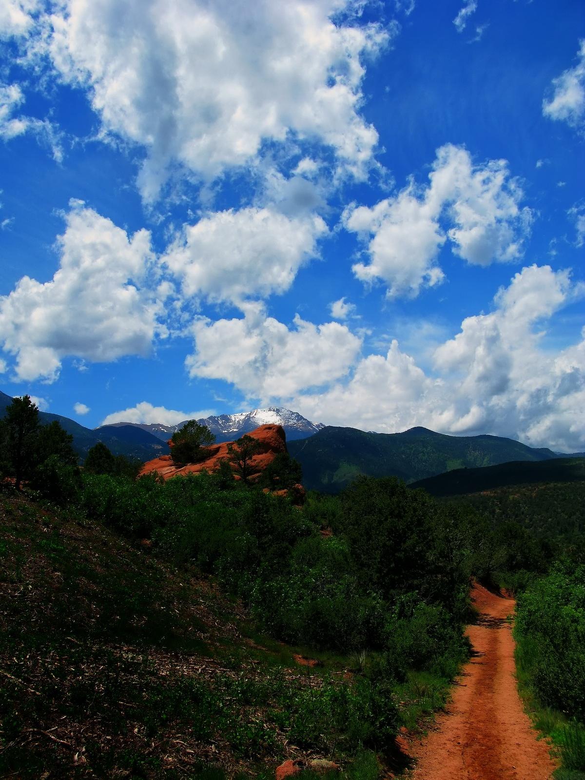 colarado, colarado springs, pikes peak,, photo