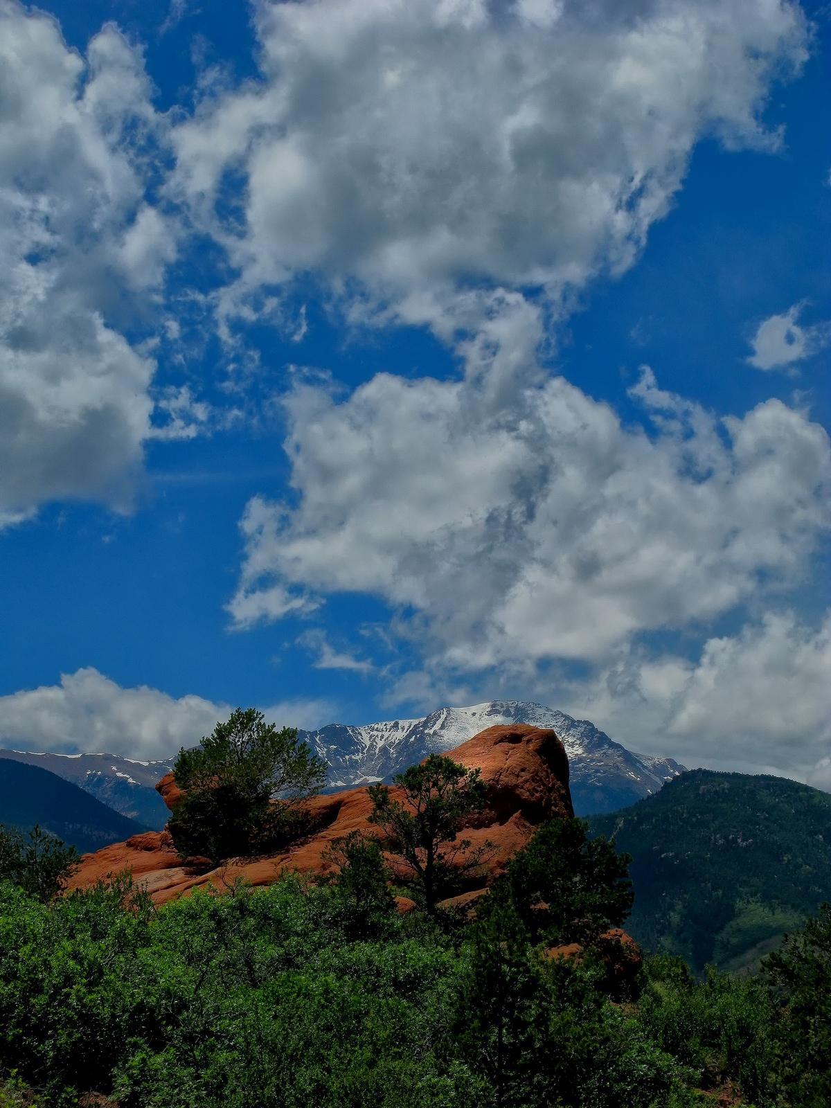 colarado, colarado springs, garden of the gods, pikes peak, , photo