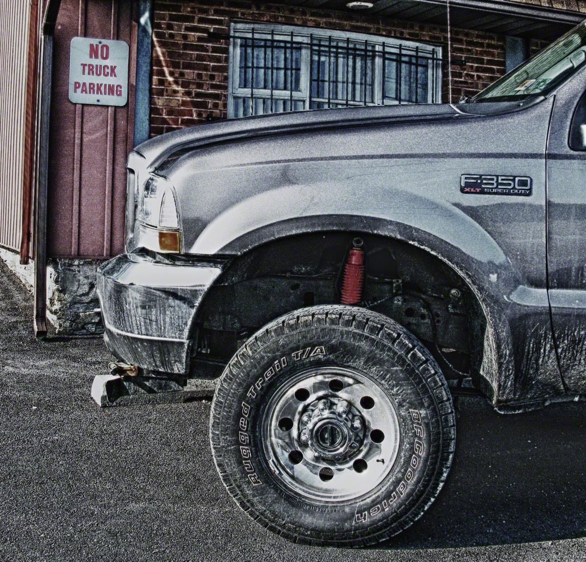 kutztown, pennsylvania, sign,ford, truck,, photo