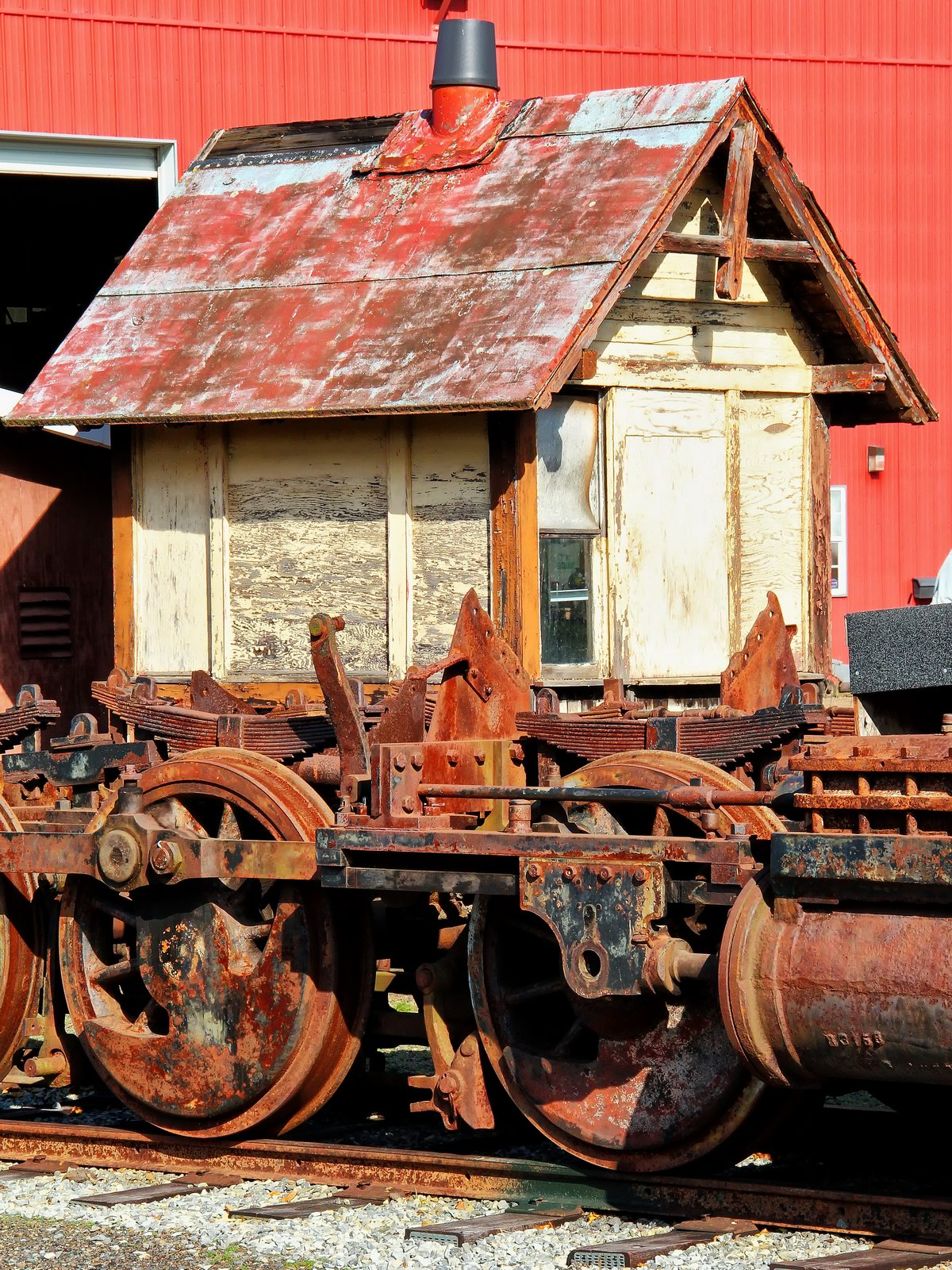 kempton, pennsylvania, wk and s railroad, iron, rust,, photo