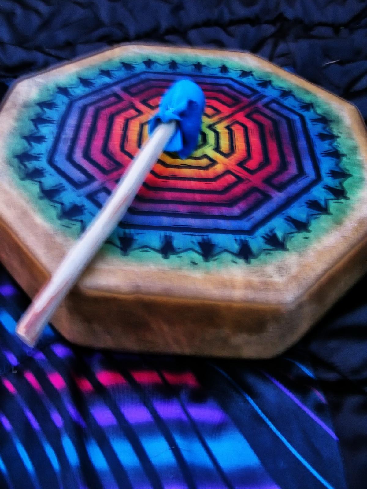 lower saucon twp, pennsylvania, drums, labyrinth, beat, vibrations,, photo