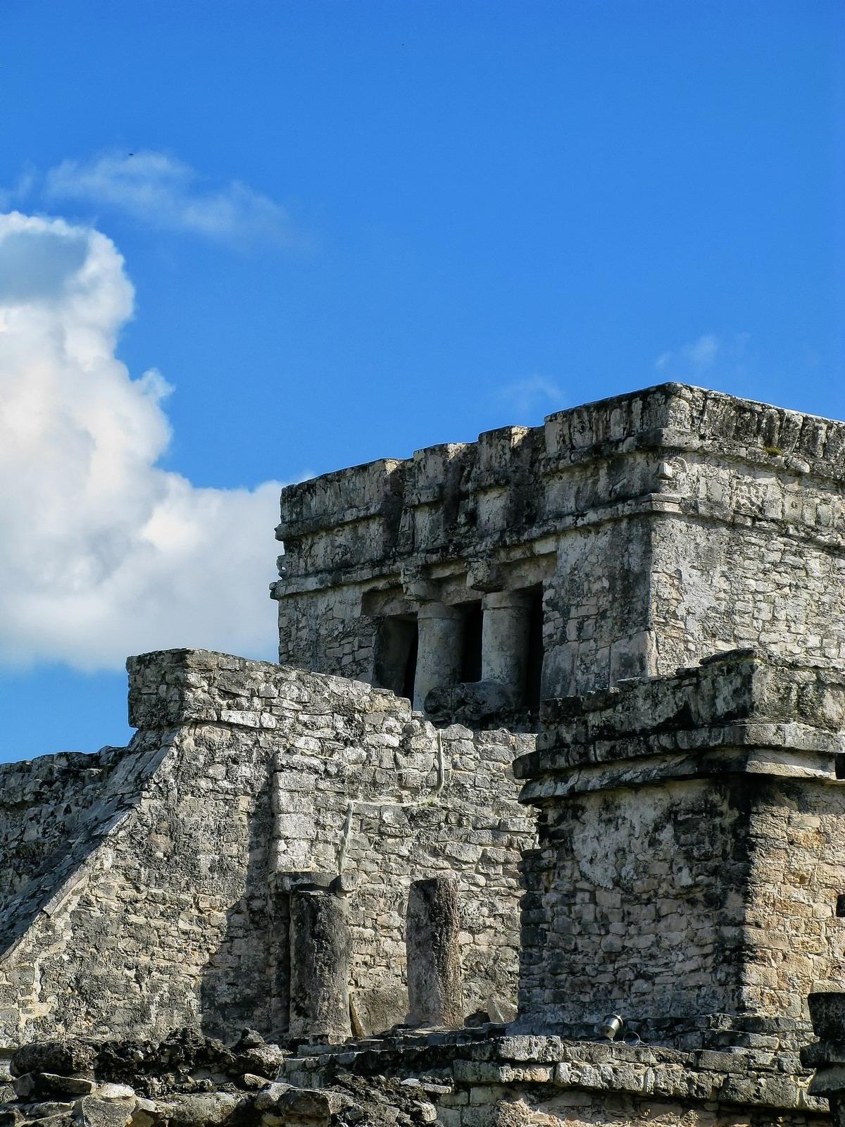 mexico, tulum, castle, stone, temple, sacrifices, quintana- roo, , photo