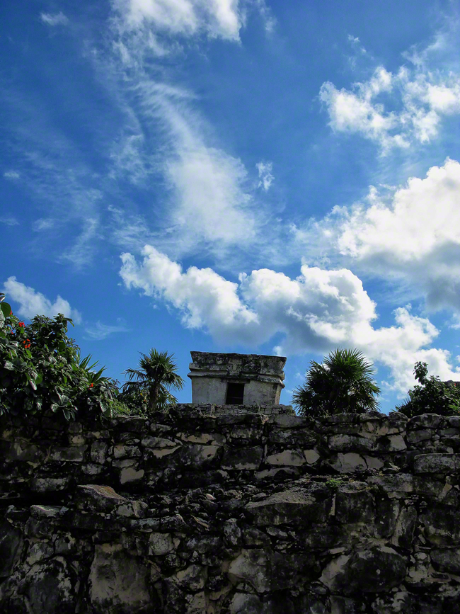 mexico, tulum, temple-of-the-decending- god, sculpture, quintana- roo, , photo
