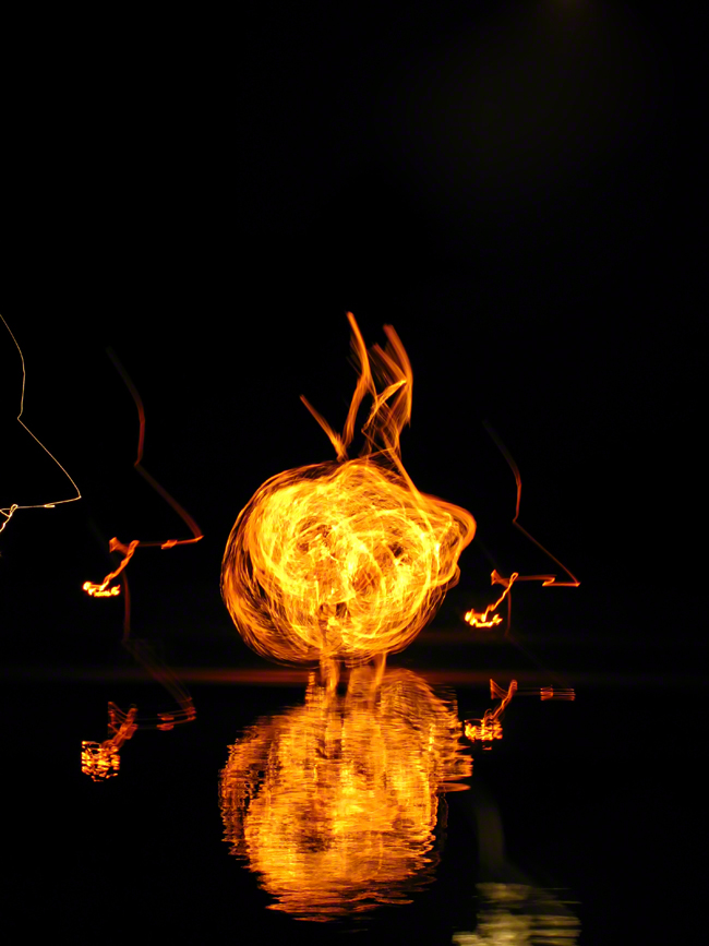 mexico, tulum, mayan, firedancers, moon, quintana- roo, , photo