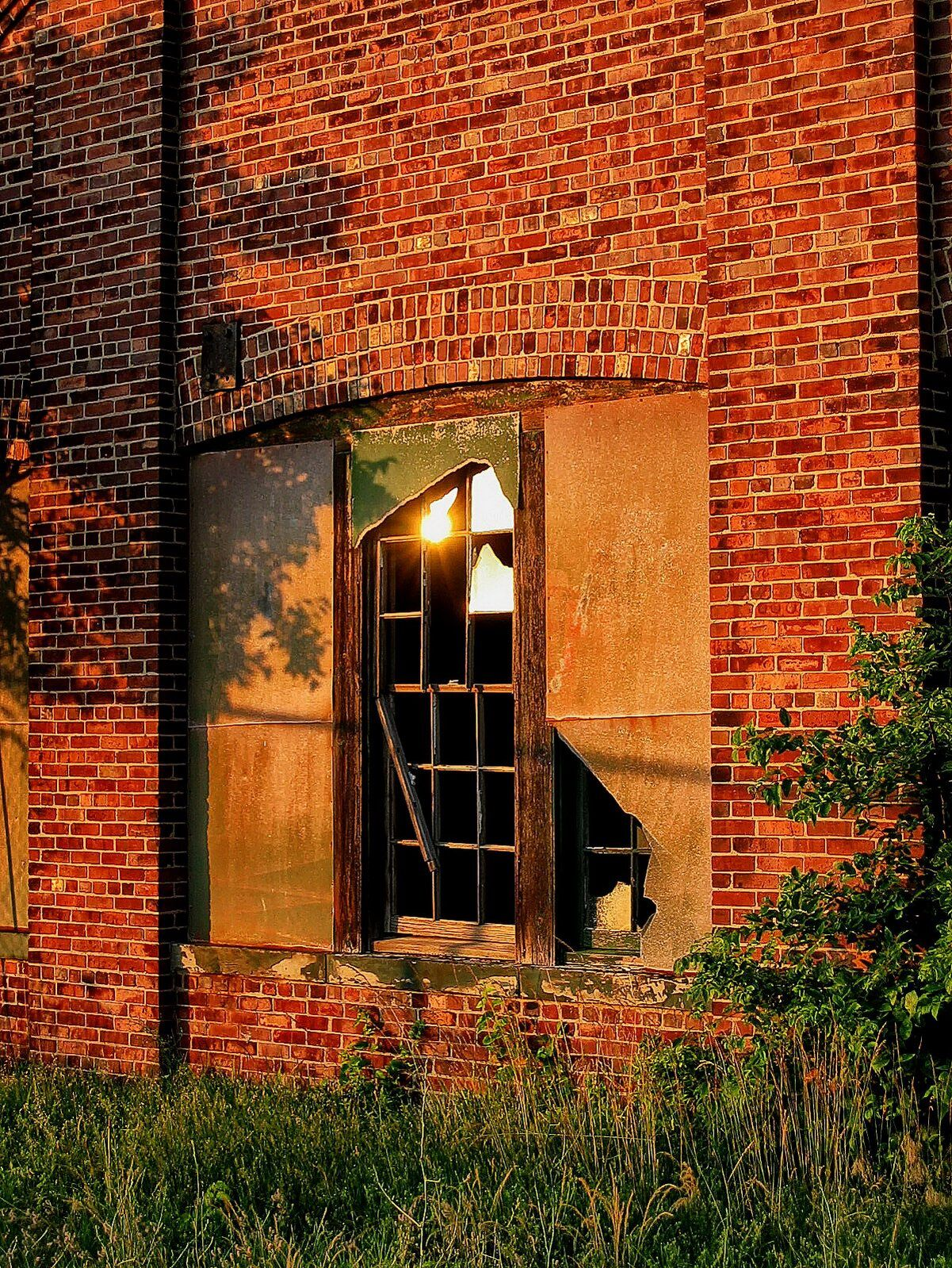new jersey, sandy hook state park, fort hancock, building 132, ruins, , photo