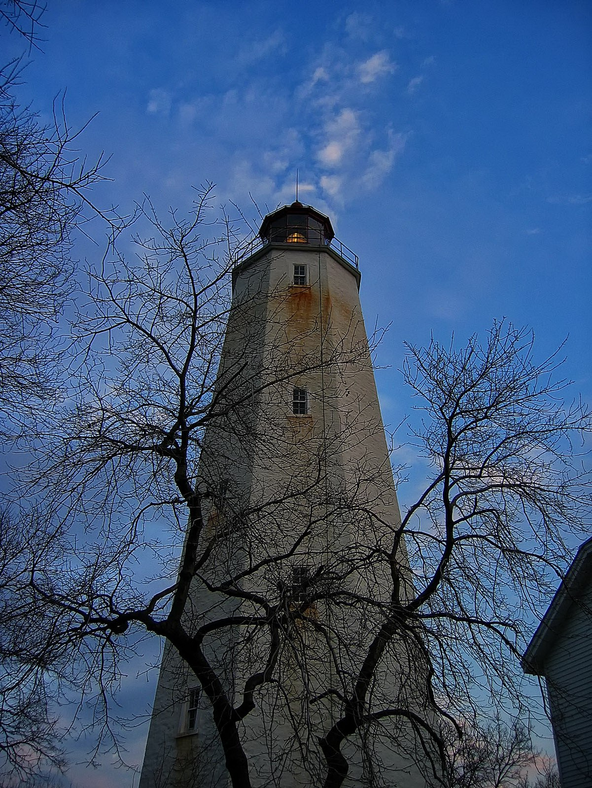 Sandy Hook Lighthouse 1764 still shines its light for all to see.