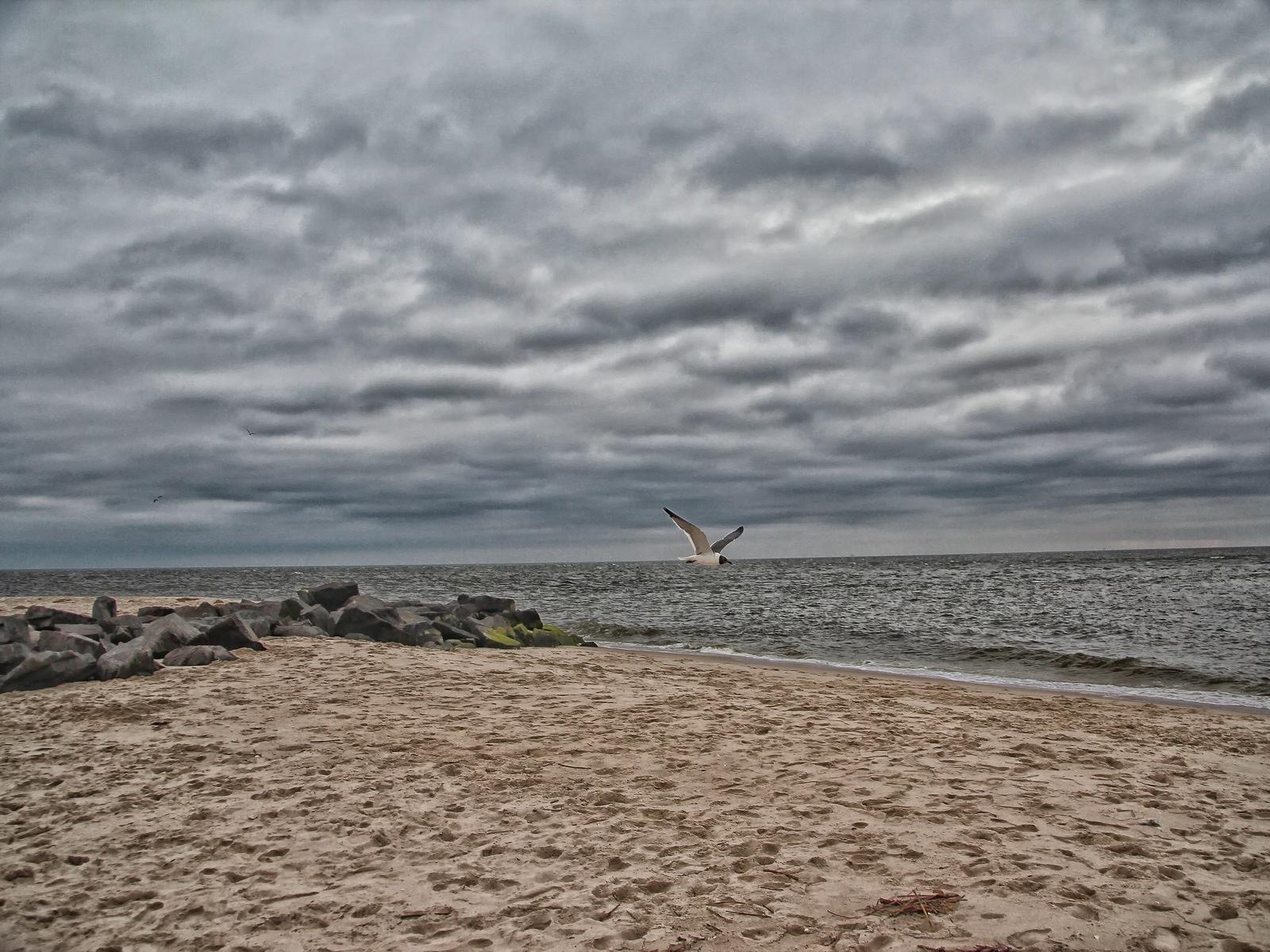 new jersey, cape may, atlantic ocean, delaware bay, sun set beach,, photo