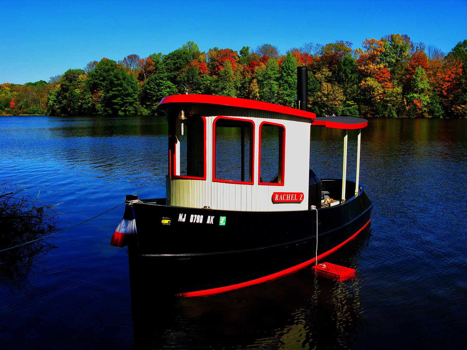 The Rachel Z remained silent at its mooring waiting for her captain to fire up the steam engine.