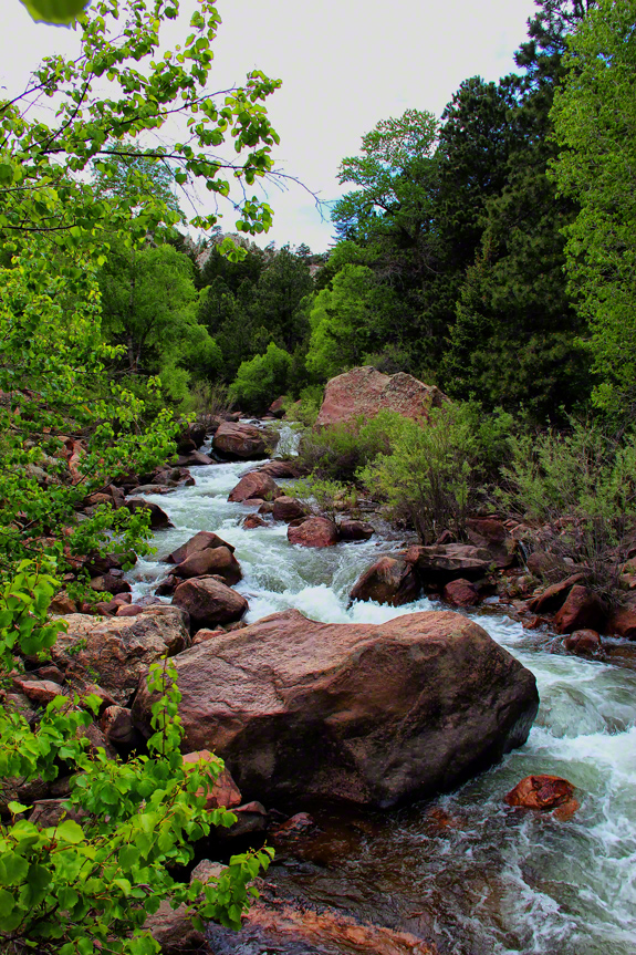 colorado, eldorado canyon state park, south boulder creek, continental divide,, photo