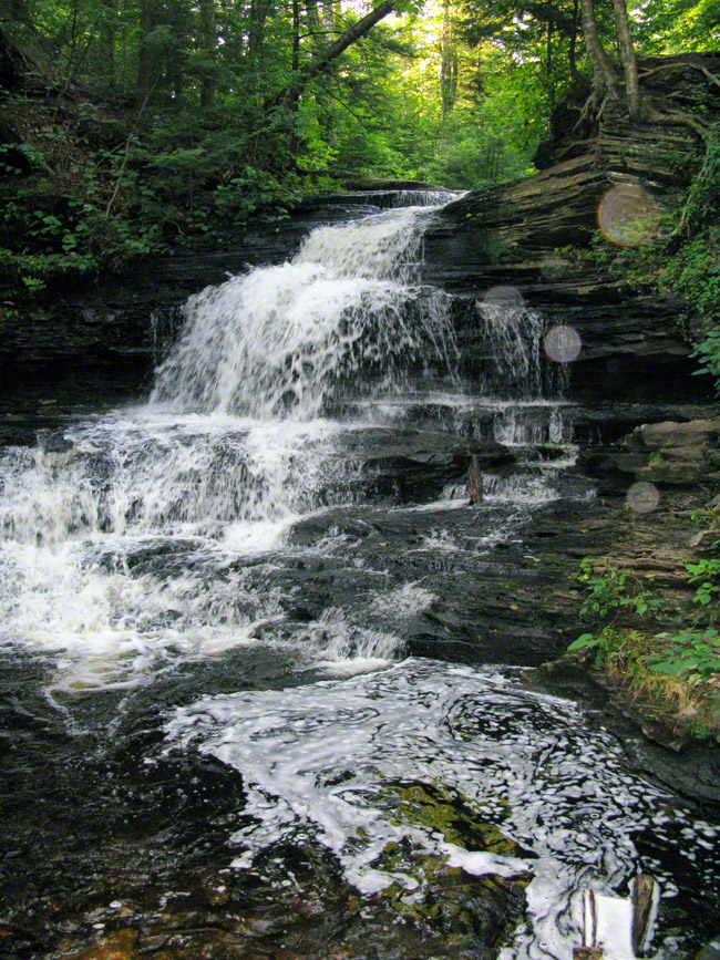 ricketts glen state park, pennsylvania, orb, waterfalls,, photo